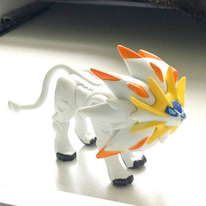 Image 1 - Solgaleo Big size anime cartoon action & toy figures Collection model Pokemonal toy