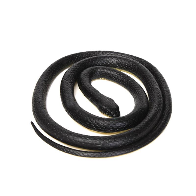 Halloween Realistic Soft Rubber Toy Snake Safari Garden Props Joke Prank Gift About 52Novelty and Gag Playing Jokes Toys