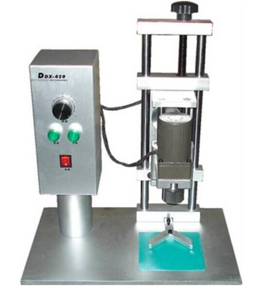 Good Quality DDX450 Glass Jar Capping Machine For Cap Diameter 10-50mm