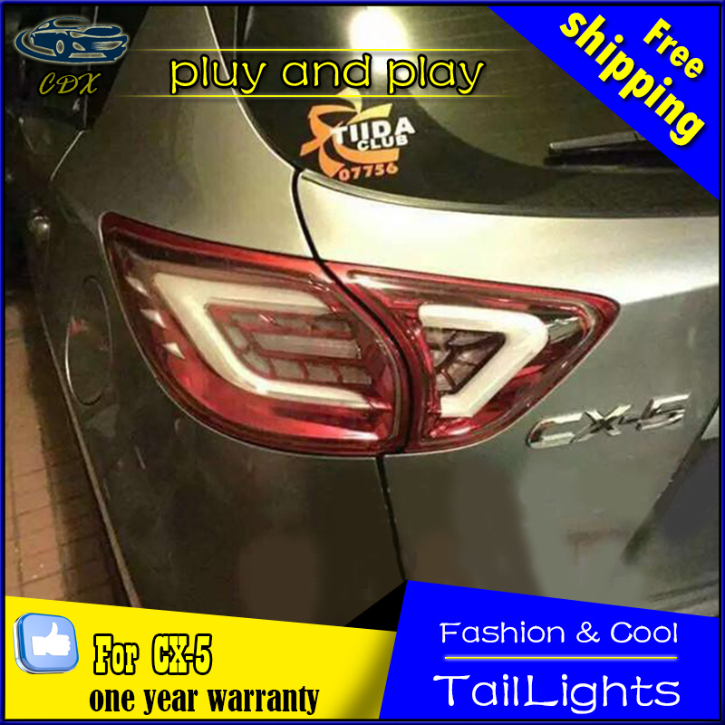 CDX Car Styling Tail Lamp for Cruze 2015-2016 Tail Lights LED Tail Light Rear Lamp LED DRL+Brake+Park+Signal Stop Lamp