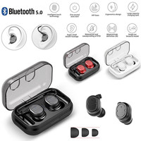 2019 New 100% brand new and high quality made Touch Mini True Wireless Bluetooth 5.0 Earbuds Twins Headset Earphone In ear
