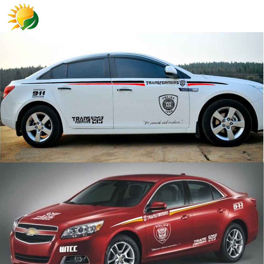 Honda car sticker design - Aliexpress Com Buy Modified Vehicle Applique Car Styling Body Decoration For Honda Car Stickers Geely Beltline Stickers Great Wall Vehicle Garland From