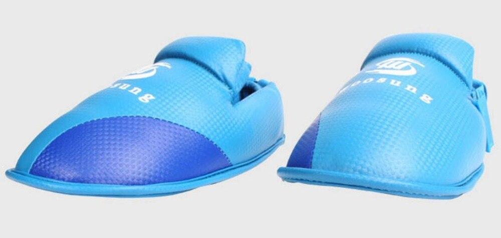 newest 1b6d1 524b0 Haute Qualité KARATÉ Shin garde Pad Leg Instep Protecteur De Boxe Leggings  Taekwondo Sanda MMA Formation amovible tibia garde