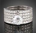 Victoria Wieck 71 PCS topázio simulado diamante 10KT White Gold Filled 5 casamento da faixa Set anel Sz 5 - 11 frete grátis