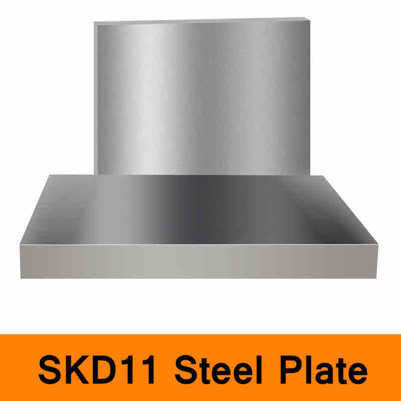 SKD11 Steel Plate JIS Standard Mould Steel Die Steel Sheet CNC Machine DIY Tool Industry Material Hard Wearing diy oval lace window embossed mould carbon steel cutting die