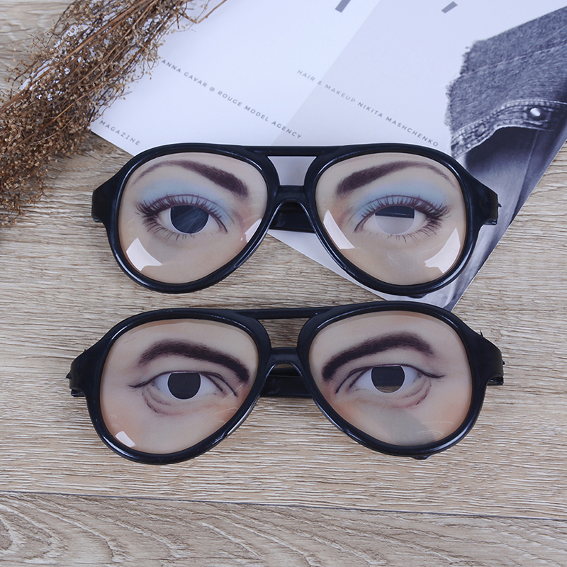 1Pc New Adult Party Awesome Funny Eyes Eyeglasses Mask Costume Disguise Prank Joke Glasses