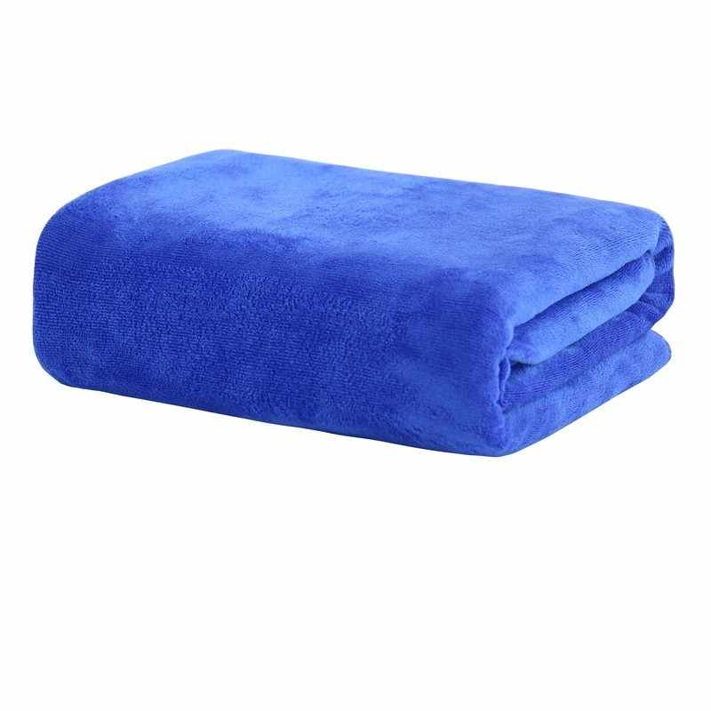 LDAJMW Salon de beauté hôtel serviette de bain peignoir adulte épais grand coton doux Super absorbant lit de Massage spécial grande serviette