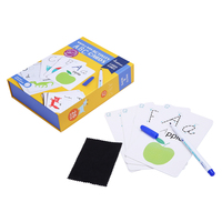 Kids Alphabet Write Cards Montessori Materials Educatioanl Toys For Children Teach English Letters Exercise Tutorial Baby Toy