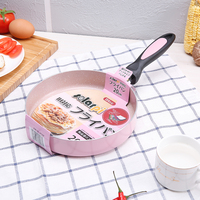 Japanese 20CM Nonstick Pan Non Stick Cookware Frying Pan Saucepan Small Fried Eggs Pot General Use