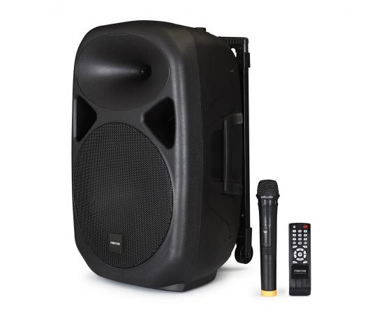 Cash Box Amplified Fonestar ASH-7512U With Remote Control And Microphone, Power 100 W Max, Play USB/SD/MP3