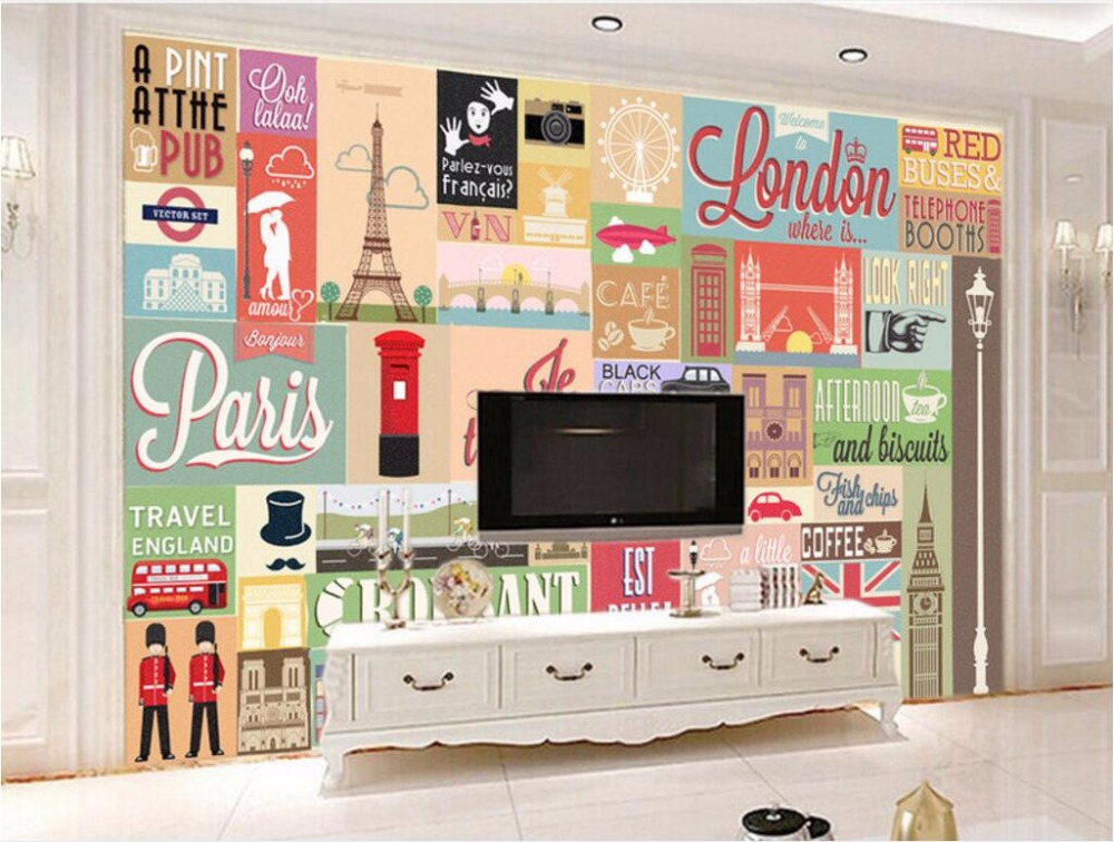 WDBH custom mural 3d wallpaper European architectural stamps retro decoration painting 3d wall murals wallpaper for living room free shipping custom 3d stereo car mural ktv bar personality european retro wallpaper murals children wallpaper mural