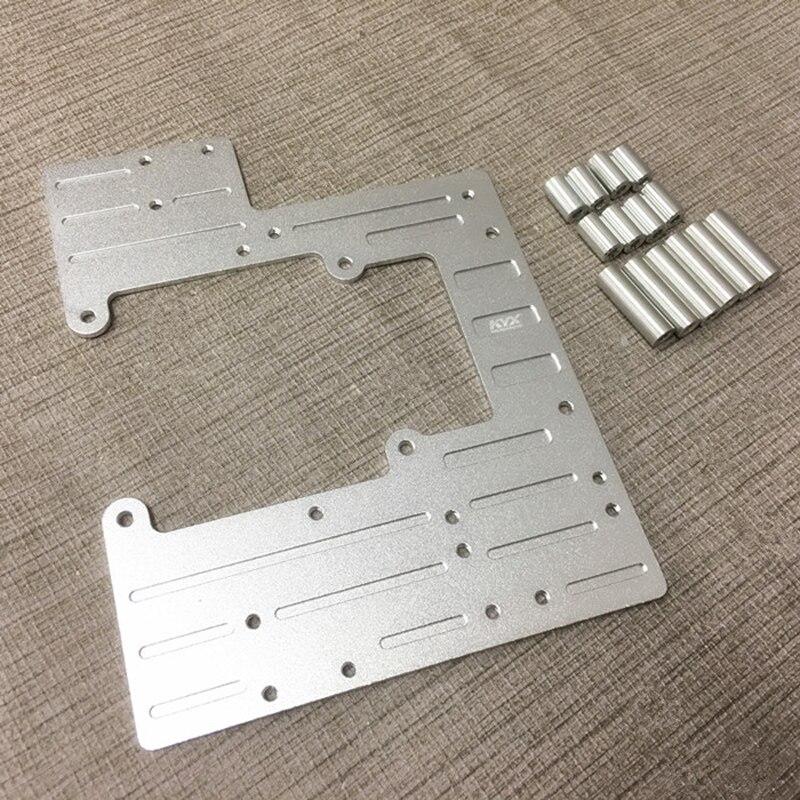 1PCS Tamiya 1/14 Scania R620 RC Model Cars Metal Accessories Aluminum Alloy Radio Tray Second Floor Board Upgraded Parts