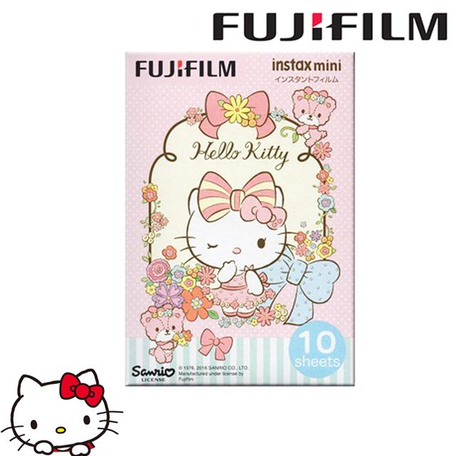 Fujifilm Instax Mini Film New Hello Kitty Pink 10 sheets Instant