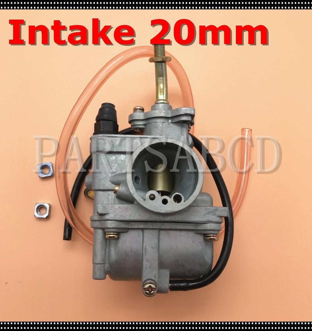 20mm Intake Carburetor For Suzuki 110cc Motorcycle Atv Parts Atv Parts & Accessories