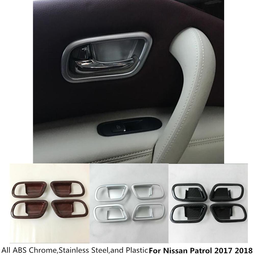 Casa pr 233 moldada de madeira casa pr 233 moldada - Para Nissan Patrol 2017 2018 Estilo Do Carro Bra O Elevador Bot O Painel De Interruptores De Vidro