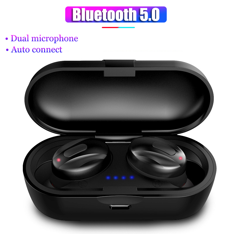 XG <font><b>13</b></font> <font><b>TWS</b></font> Bluetooth Headset In-Ear Bluetooth 5.0 wireless headset Stereo Waterproof noise canceling Earphone with Charging Box image