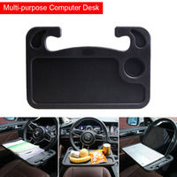 Hot Portable Car Desk Laptop Computer Table Steering Wheel Eat Drink Work Holder Seat Tray Stand JLD