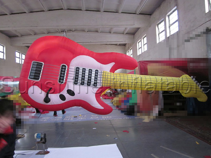 Customized 10ft giant inflatable guitar music inflatable for advertisingCustomized 10ft giant inflatable guitar music inflatable for advertising