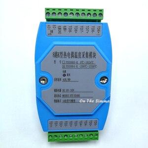 Image 2 - 8 yollu K termokupl toplama modülü MODBUS RTU protokolü 485