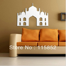 New Arabic Calligraphy Islam Vinyl Wall Decal  Muslim Mosque Mural Art Wall Sticker Removeable Living Room Home Decoration