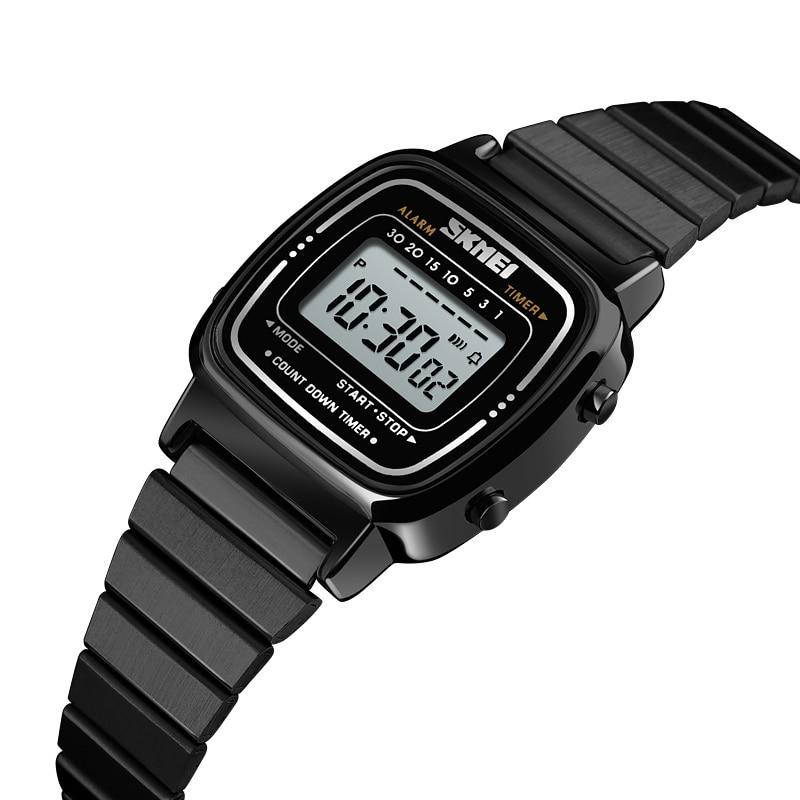Luxury Women Quartz Hourly Chime Clock Countdown Watch 30M