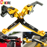 6 Colors CNC Motorcycle Adjustable Brake Extendable Clutch Levers Set For Ducati MTS1000SDS/DS 2004 2005 2006 UP with logo