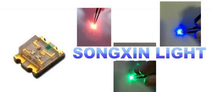 4000 светодиоды СИД smd 0603 ультра высокой яркости RGB полноцветный СИД 0603 Общий Анод RGB 1,6*1,6*0,55 мм