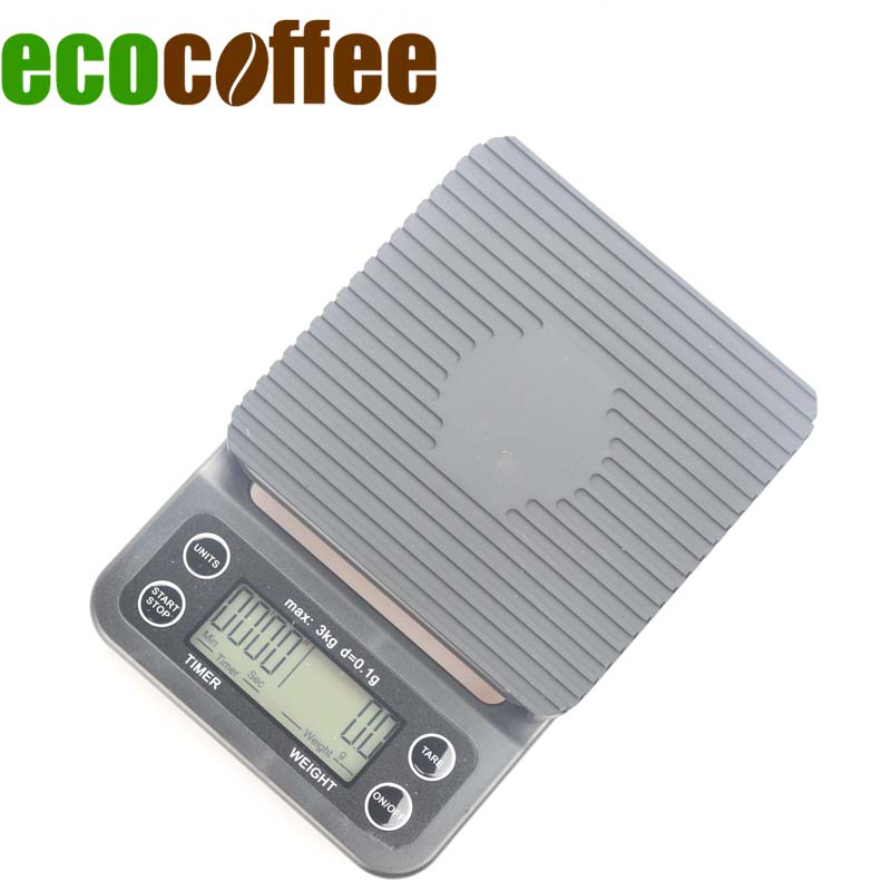1PC Free Shipping V60 Drip Coffee Mini Digital Electronic  Scale with Timer 0.1-3000G Kitchen Weighing1PC Free Shipping V60 Drip Coffee Mini Digital Electronic  Scale with Timer 0.1-3000G Kitchen Weighing
