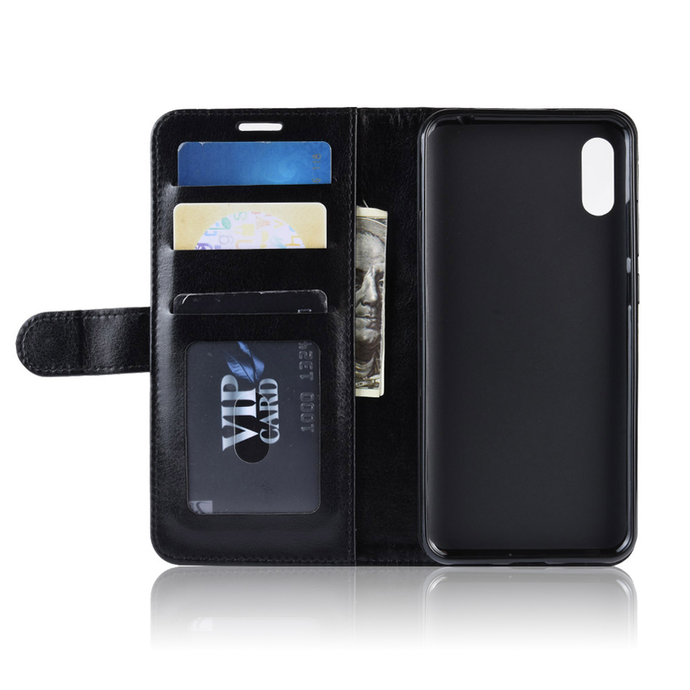 KOC3572_4_Wallet Leather Case with Card Slots and Stand for Cubot X19