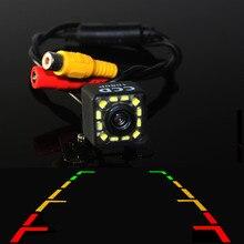 Assistenza di parcheggio Auto Videocamera vista posteriore di Retromarcia di Backup Retromarcia Con 12LED HD del CCD di Visione Notturna Luce Impermeabile Funzione di BYNCG