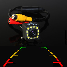 Parking Assistance Car Rear View Camera Reversing Reverse Backup With 12LED HD CCD Night Vision Light Waterproof Function BYNCG