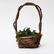 Caioffer Greative Ceramic Plant Pots Wall Flower Plant Bonsai Hanging Basket For Balkon Balcony Garden Decoration CJ015