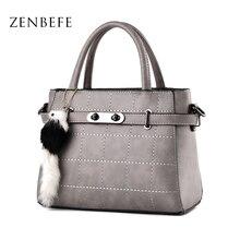 ZENBEFE Luxus Frauen Handtaschen Langlebig Frauen Totes Bürodame Geschäfts Tasche Frauen Messenger Bags Leder Umhängetaschen Bolsa