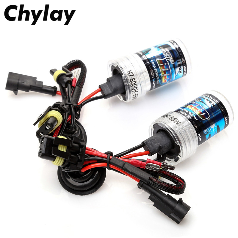 One Pair H7 55W XENON HID REPLACEMENT BULBS LAMP 8000K CRYSTAL BLUE HID LIGHT