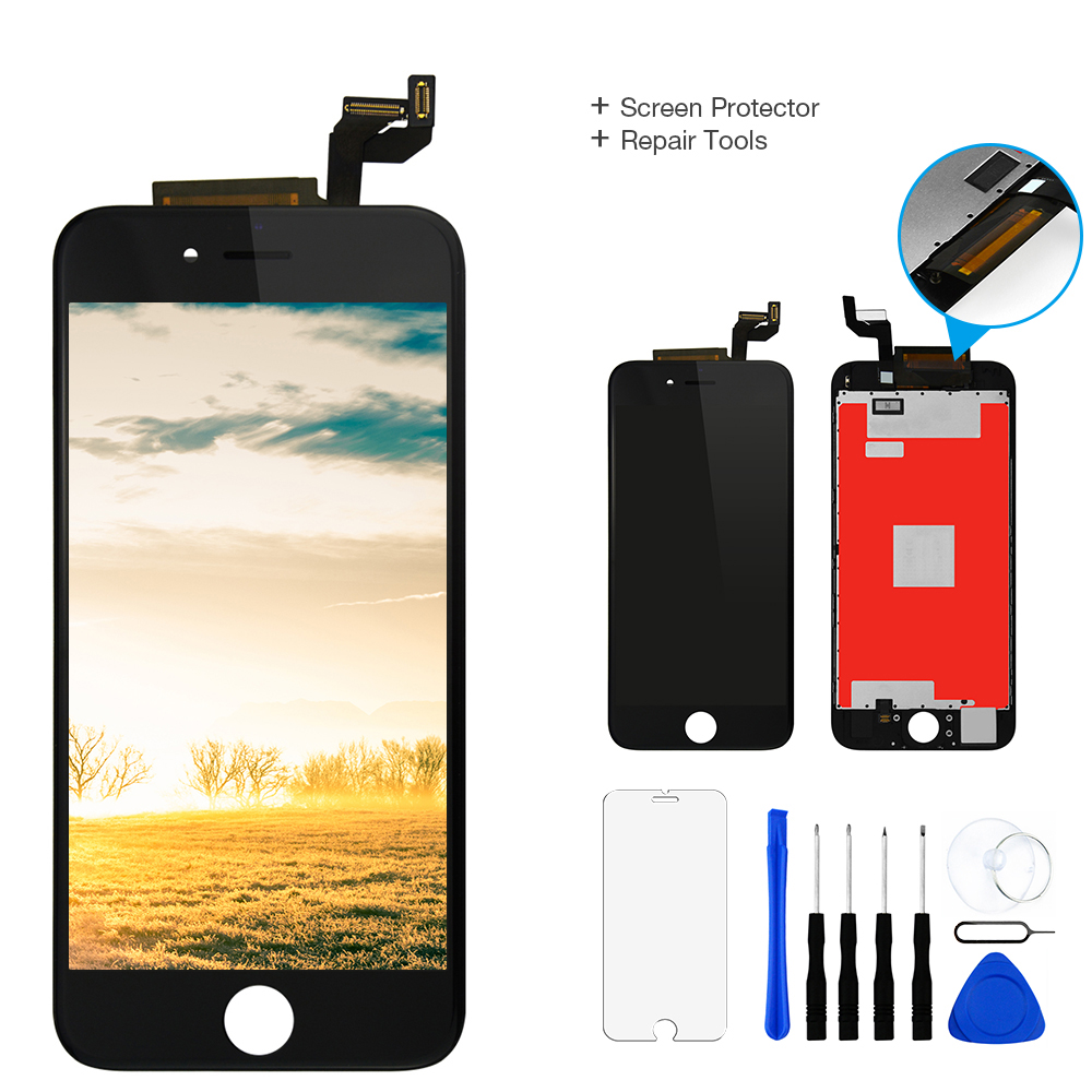 1Pcs AAA Parts For Apple iPhone 6s LCD Display+ Touch Screen Digitizer Assembly 4.7 A1633 A1688 A1700 100% No Dead Pixel LCD 1Pcs AAA Parts For Apple iPhone 6s LCD Display+ Touch Screen Digitizer Assembly 4.7 A1633 A1688 A1700 100% No Dead Pixel LCD