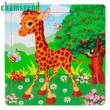 Drop панда образования современные головоломки деревянные обучения доставка животных детей игрушки