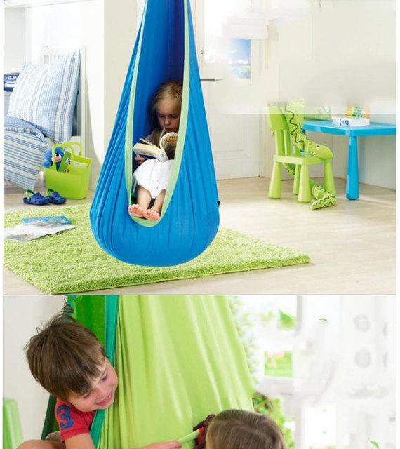 2019 hot sale Hammock Inflatable Cushion Garden Swing Chair Indoor Outdoor Hanging Seat Child Swing Seat Patio Hammock Furniture