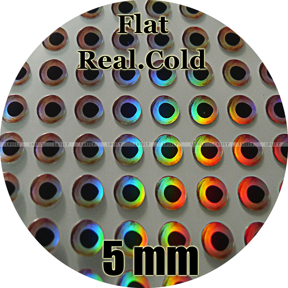15mm Real Hot Wholesale 180 Soft Molded 3d Holographic Fish Eyes Fly Jig Lure for sale online