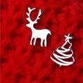 Рождественский Подарок Стерлингового Серебра 925 Лось Олень Рождественская Елка Серьги Стержня Для Женщин Стерлингов-Серебро-Ювелирные Изделия Букле D'oreille A355