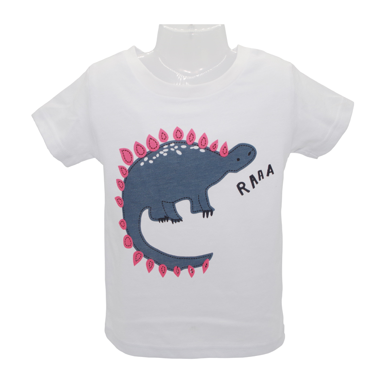 2018 Baby Boys Qızlar T-Shirt Yaz Uşaq Topları Geyim Şirin Cizgi - Uşaq geyimləri - Fotoqrafiya 4