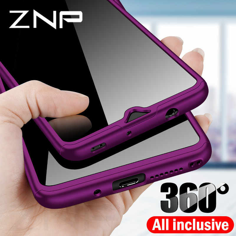 ZNP 360 Full Cover PC Phone Case For Huawei Mate 20 Pro Lite 10 20X Case For Huawei Mate 10 Pro Lite Mate 20 X Protective Cases