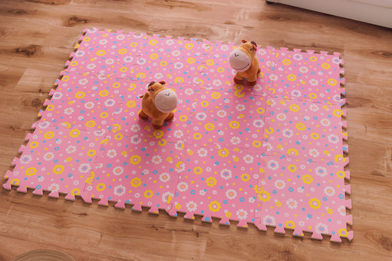 Childrens soft developing crawling rugs,baby play puzzle number/letter/cartoon eva foam mat,pad floor for baby games 30*30*1cm