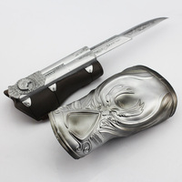 NECA Assassins Creed Ezio Hidden Blade Brotherhood Ezio Auditore Gauntlet Replica Cosplay Chritmas Gift