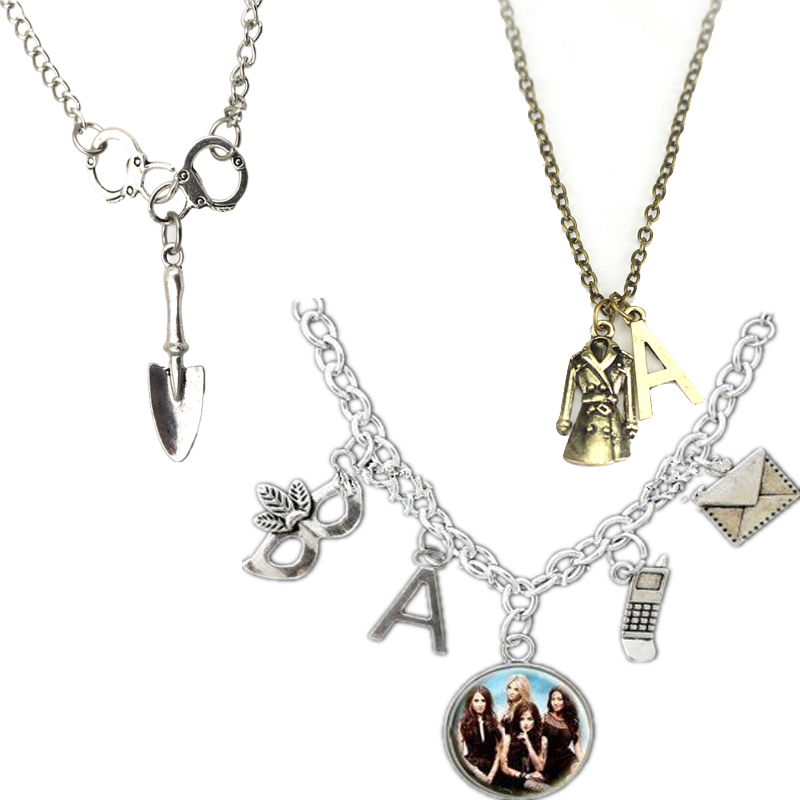 Pretty Little Liars Inspired Got A Secret Can You Keep It -A Charm Necklace Bronze Penda ...