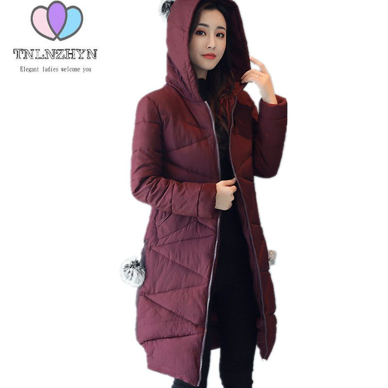 2017New Winter Jacket Large size Solid color Hooded Warm Women Cotton Jacket Coat Casual Fashion Clothing Ladies Outerwear WA896 olgitum 2017 women vest jackets new fashion thickening solid casual cotton fashion hooded outerwear