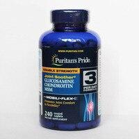 Двойная сила Глюкозамин хондроитин и МСМ joint soother 240 шт в наборе, бесплатная доставка