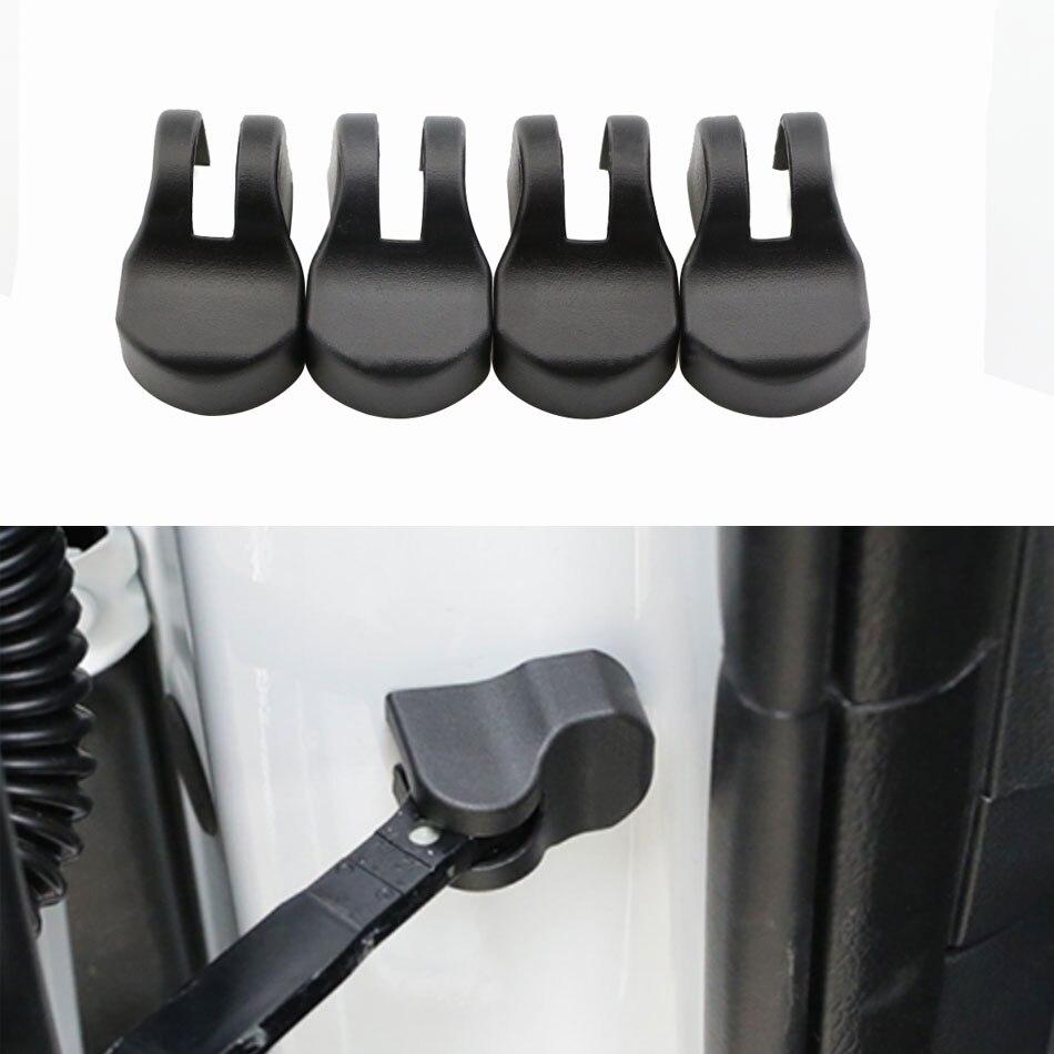 Color My Life 4Pcs Car Door Stopper Protection Cover For KIA RIO CERATO QUORIS Optima Sportage K2 K3 K3S K4 K5 KX3 KX5 QL CEED