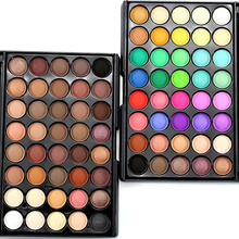 Professional Brand Makeup Lots Glitter Matte Eyeshadow 40color Waterproof Bronzer Naked Palette font b Eye b