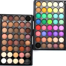 Profesionální voděodolné perleťové oční stíny – paleta 40 ti odstínů