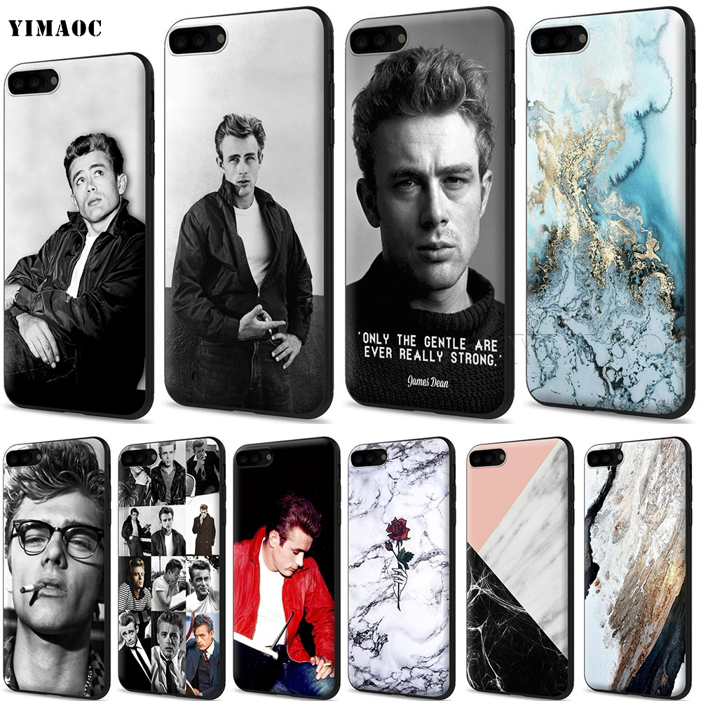 YIMAOC James Dean Silicone Soft Case for iPhone 11 Pro XS Max XR X 8 7 6 6S Plus 5 5S SE